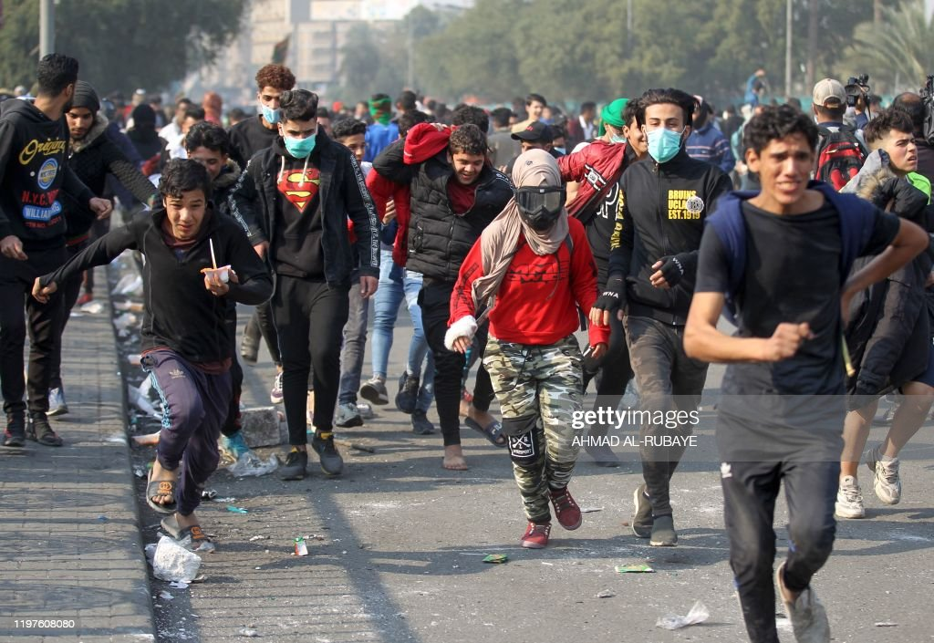 IRAQ-POLITICS-PROTESTS : News Photo