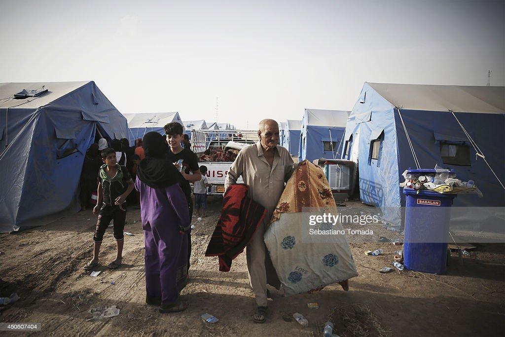 Iraqi Refugees in Erbil : ニュース写真