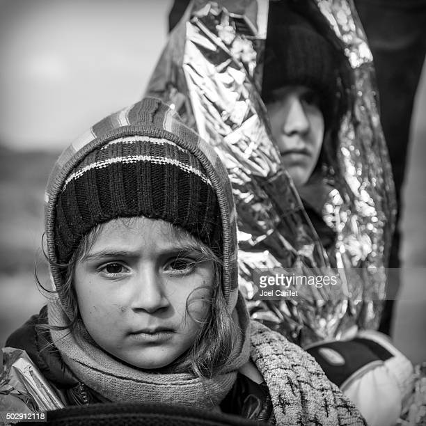 iraqi refugees in europe - trafficking stock photos and pictures