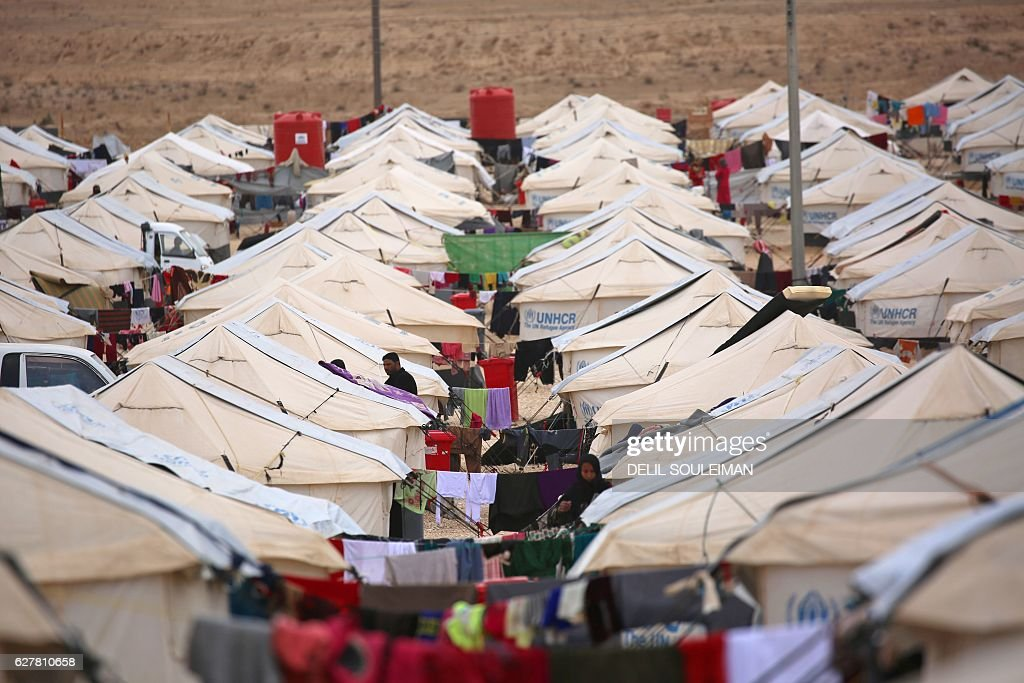 SYRIA-IRAQ-CONFLICT-REFUGEES : News Photo