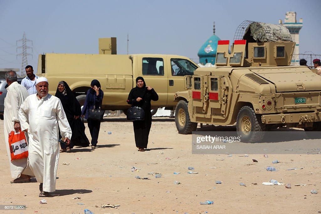 Teen girls in Al Fallujah