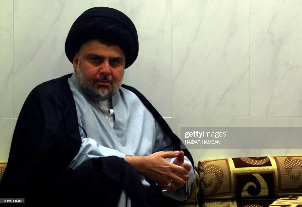 IRAQ_NAJAF-IRAQ-CONFLICT-MOQTADA : News Photo
