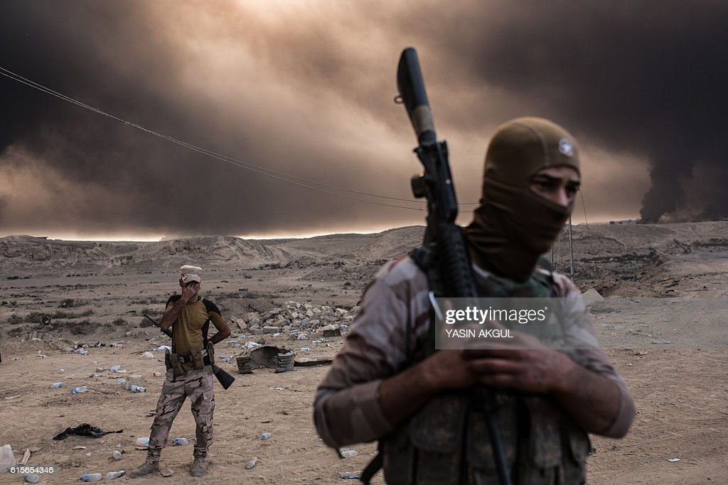 TOPSHOT-IRAQ-CONFLICT : News Photo