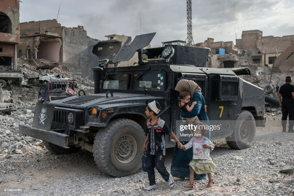 Iraqi Forces Battle IS Militants In Old City Of Mosul : Nieuwsfoto's
