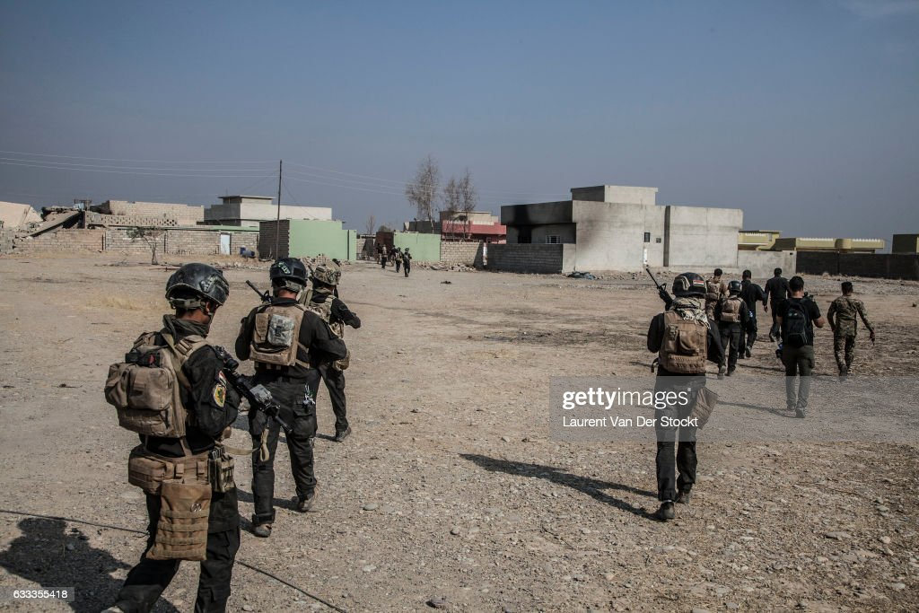 iraqi special operations forces 1 and 3 commanded by the major