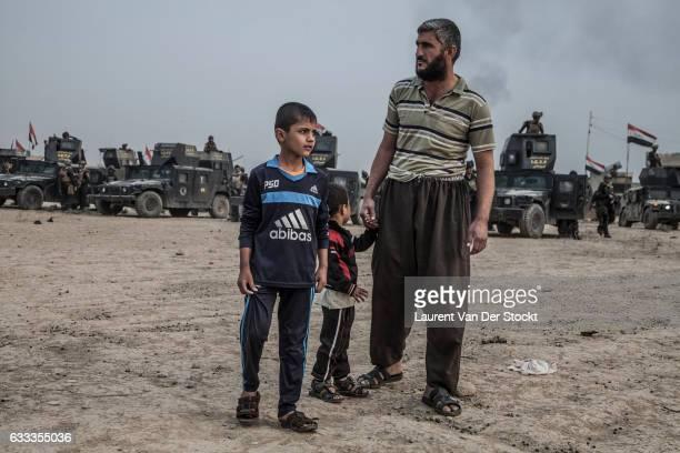 BASAKRAH to TARBAZAWAH OCTOBER 24 2016 Iraqi Special Operations Forces 1 and 3 leave at dawn from their rear base in Basakhrah to attack Tarbazawah a...