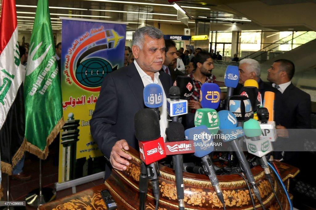 IRAQ-LEBANON-POLITICS-AVIATION-ARREST   : News Photo