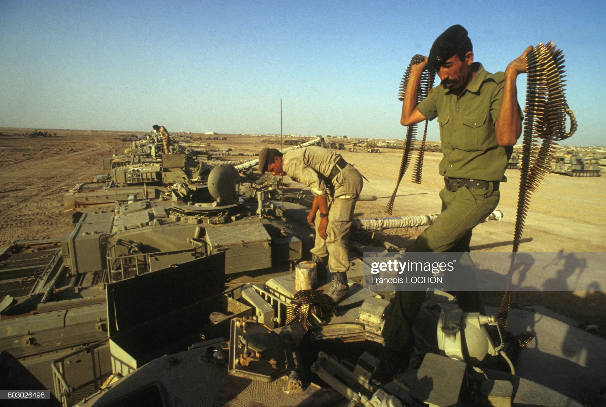 https://media.gettyimages.com/photos/iraqi-troops-seizing-tanks-from-the-iran-army-in-zubeidat-area-on-19-picture-id803026498?s=2048x2048