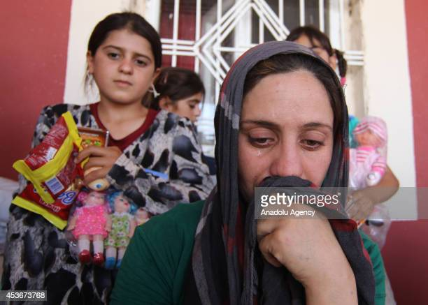 Iraqi Yezidis escaping from attacks of army groups led by Islamic State take shelter in Viransehir district of Sanliurfa city southeastern Turkey on...