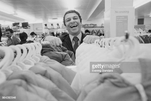 Iraqiborn British entrepreneur Selim Zilkha founder of Mothercare UK 3rd November 1977