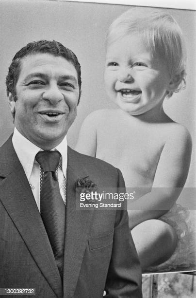 Iraqi-born British entrepreneur Selim Zilkha, the founder of retail chain Mothercare, UK, 18th July 1972. The company was first listed on the London...