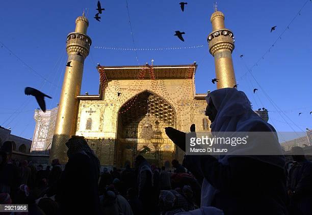 Iraqis celebrate Festival Of Sacrifice in Najaf