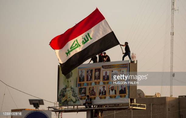 Iraqis demonstrate in the southern city of Basra on May 25 to demand accountability for a recent wave of killings targeting activists. - Thousands of...
