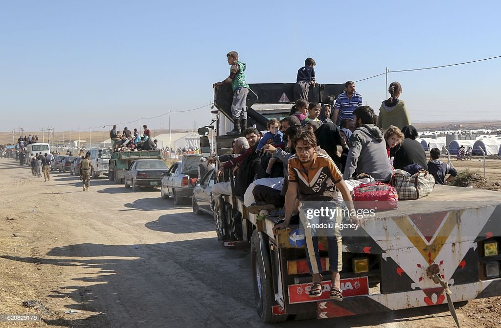 Operation to liberate Iraqs Mosul from Daesh : News Photo