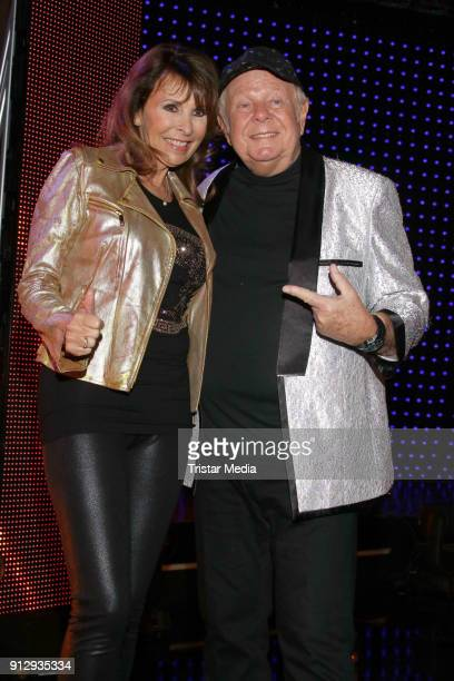 Ireen Sheer and Graham Bonney during the TV Show 'Meine Schlagerwelt Die Party' hosted by Ross Antony on January 31 2018 in Leipzig Germany