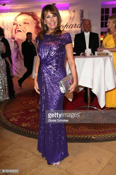 Ireen Sheer during the Semper Opera Ball 2018 reception at Hotel Taschenbergpalais near Semperoper on January 26 2018 in Dresden Germany