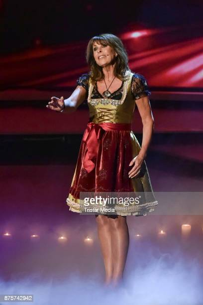 Ireen Sheer perform during the Stefanie Hertel Show 'Die grosse Show der Weihnachtslieder' on November 17 2017 in Suhl Germany