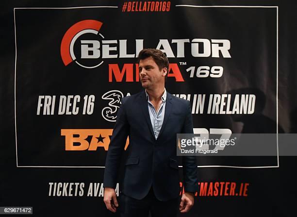 DUB Ireland 14 December 2016 BAMMA CEO David Green following the Bellator 169 BAMMA 27 Press Conference in The Gibson Hotel Dublin