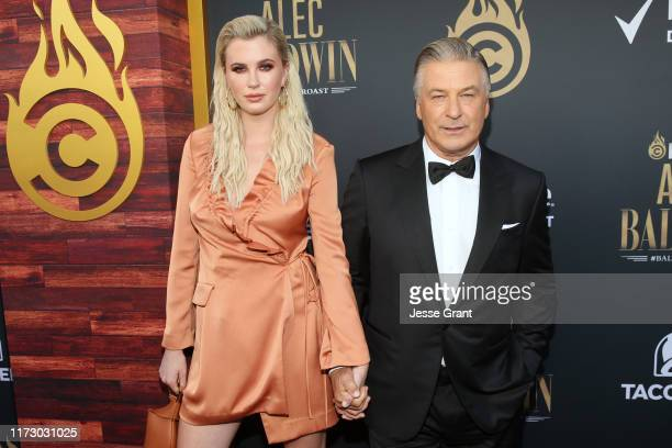 Ireland Baldwin and Alec Baldwin attend the Comedy Central Roast of Alec Baldwin at Saban Theatre on September 07, 2019 in Beverly Hills, California.