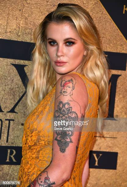 Ireland Baldwin arrives at the The 2017 MAXIM Hot 100 Party at Hollywood Palladium on June 24 2017 in Los Angeles California
