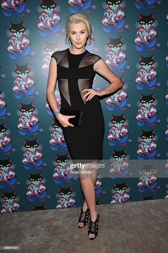 Ireland Baldwin attends Miu Miu Women's Tales 7th Edition - 'Spark & Light' Screening - Arrivals at Diamond Horseshoe on February 11, 2014 in New York City.