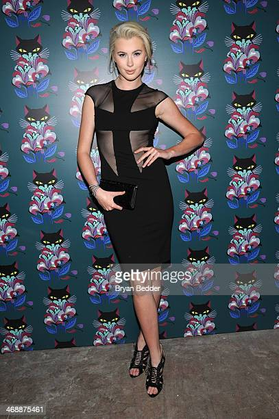 Ireland Baldwin attends Miu Miu Women's Tales 7th Edition 'Spark Light' Screening Arrivals at Diamond Horseshoe on February 11 2014 in New York City