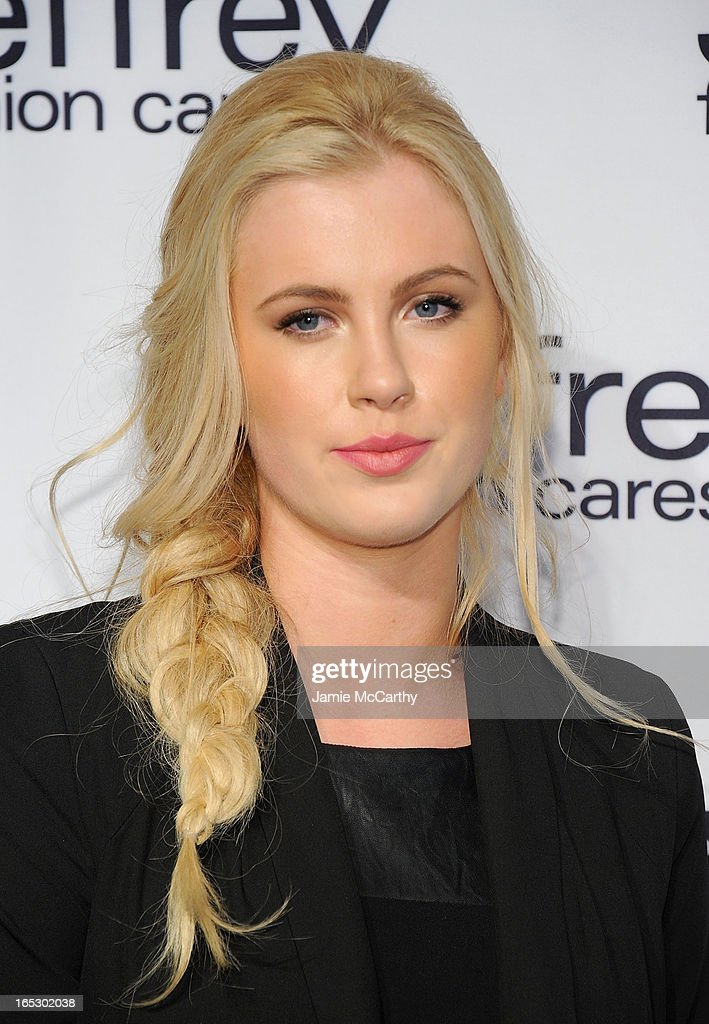 Ireland Baldwin attends the Jeffrey Fashion Cares 10th Anniversary Celebration at The Intrepid on April 2, 2013 in New York City.