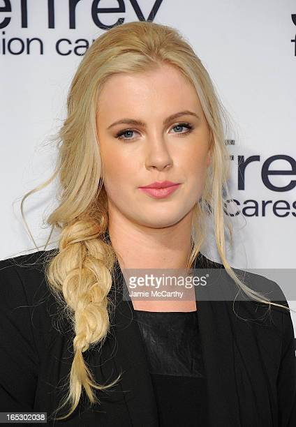 Ireland Baldwin attends the Jeffrey Fashion Cares 10th Anniversary Celebration at The Intrepid on April 2 2013 in New York City