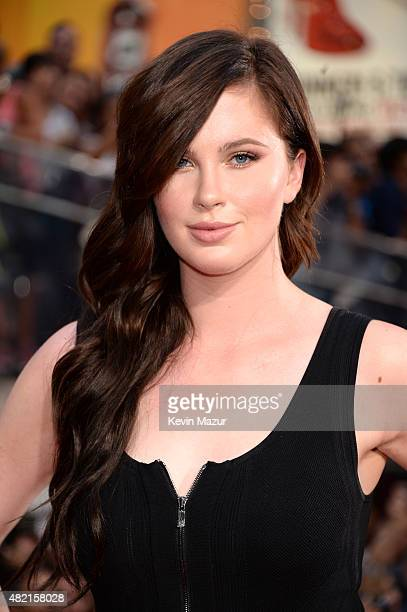 Ireland Baldwin attends the New York premiere of 'Mission Impossible Rogue Nation' at Times Square on July 27 2015 in New York City