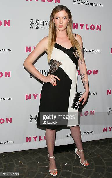 Ireland Baldwin attends the NYLON and BCBGeneration's Annual Young Hollywood May Issue Event on May 12 2016 in West Hollywood California