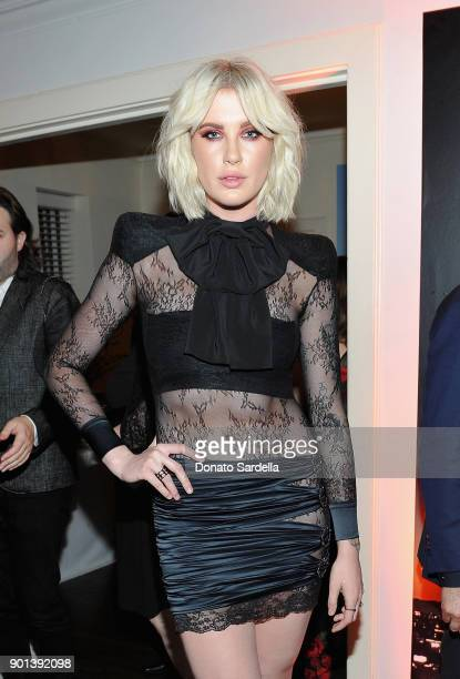 Ireland Baldwin attends W Magazine's Celebration of its 'Best Performances' Portfolio and the Golden Globes with Audi Dior and Dom Perignon at...