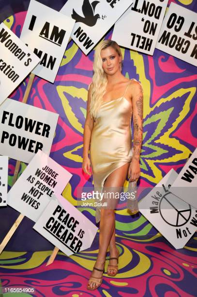 Ireland Baldwin attends Weedmaps Museum Of Weed exclusive preview event on August 01 2019 in Los Angeles California