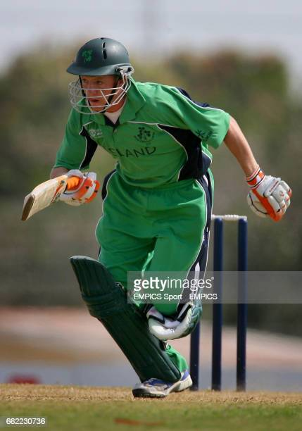 Ireland batsman and wicketkeeper Niall O'Brien