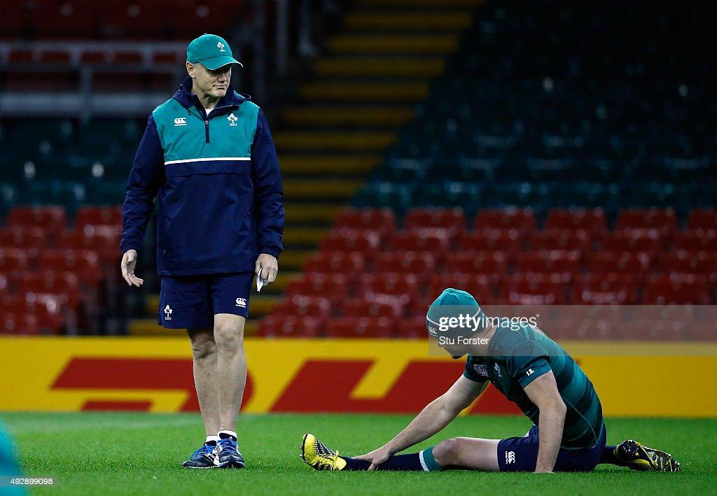 Ireland Training : News Photo