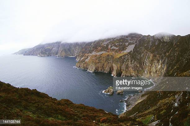 Ireland County Donegal Donegal Coast Cliffs Of Bunglass