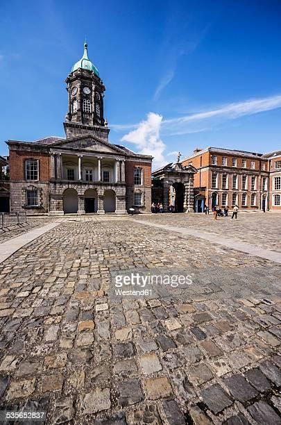 ireland, county dublin, dublin, dublin castle, state apartments - dublin castle dublin stock pictures, royalty-free photos & images