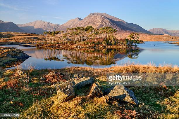 Ireland County Galway Connemara Derryclare Lough