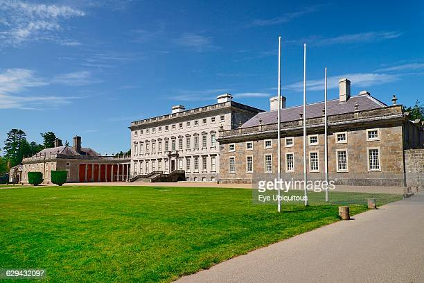 Ireland County Kildare Celbridge Castletown House Palladian country house built in 1722 for William Conolly the Speaker of the Irish House of Commons