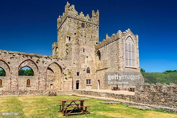Ireland. County Wexford. Tintern Abbey. 13th century Cistercian Abbey.
