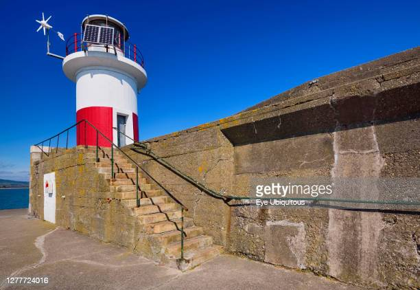 Ireland County Wicklow Wicklow town Wicklow Harbour Lighthouse
