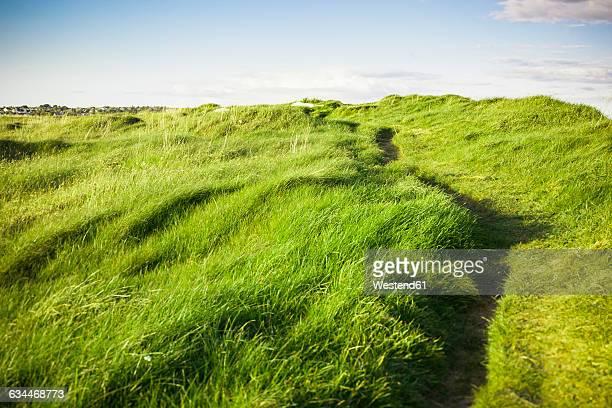 ireland, landscape in connemara - insel irland stock-fotos und bilder