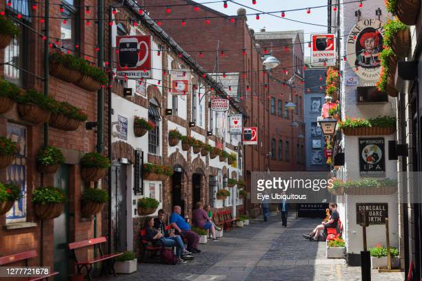 Ireland, North, Belfast, Cathedral Quarter, Exterior of the the Duke of york pub in Commercial Court.