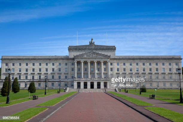 Ireland North Belfast Stormont assembly building