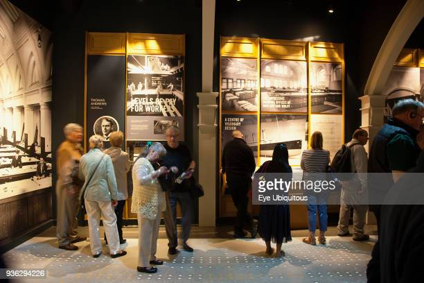 Ireland, North, Belfast, Titanic quarter visitor attraction.