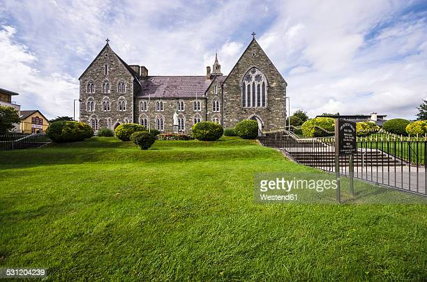 ireland, ring of kerry, killarney, franciscan monastery - ring of kerry stock photos and pictures
