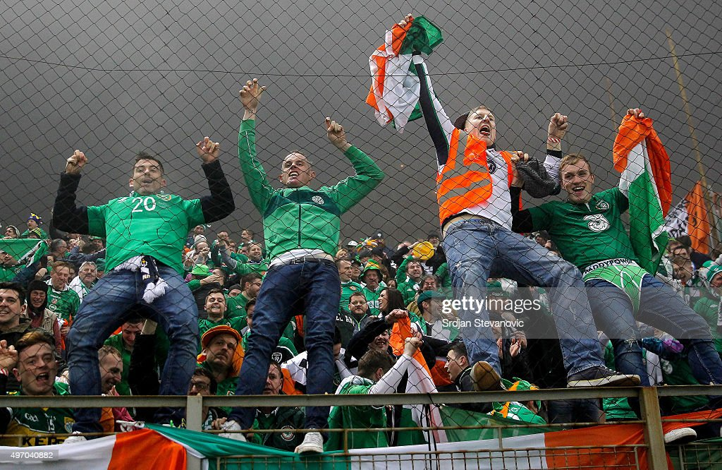 Bosnia and Herzegovina v Republic of Ireland - UEFA EURO 2016 Qualifier: Play-Off First Leg : News Photo