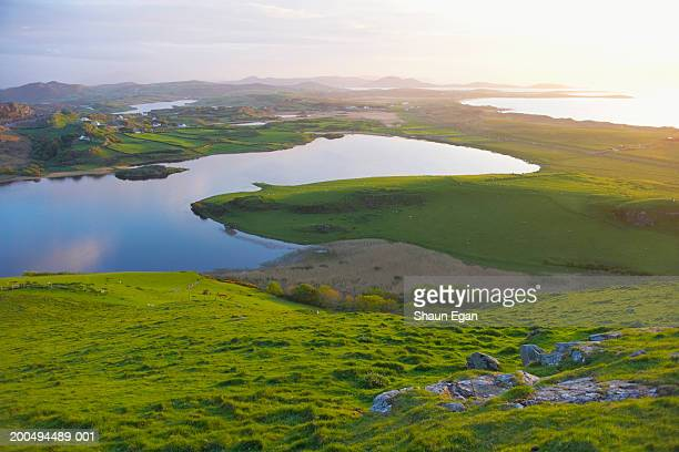 Ireland, Ulster, Co.Donegal, Fanad, country landscape