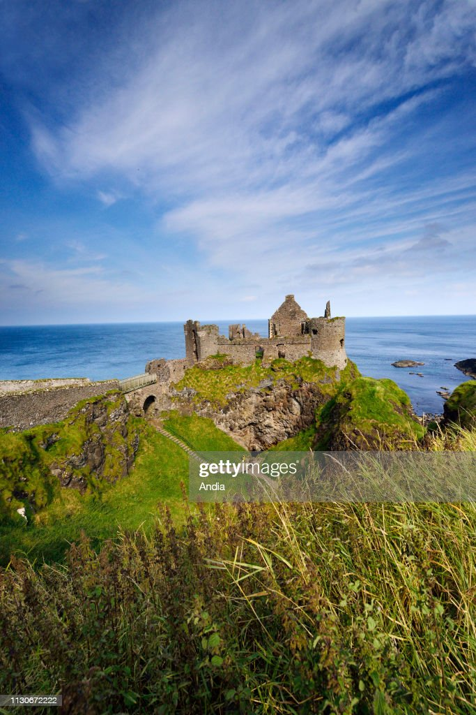 Dunluce Castle. : News Photo