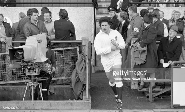Ireland V England in the Five Nations Championship at Lansdowne Road, Dublin, .