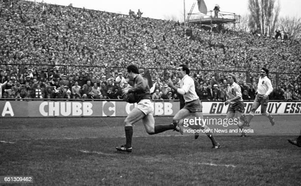 Ireland V France at Lansdowne Road, Dublin, .